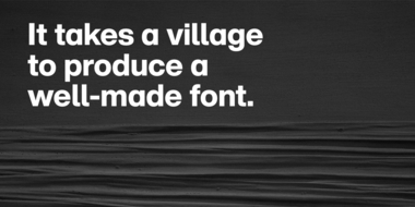 Font engineering and the importance of what you can't see.